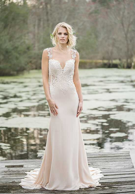 Lillian West 6454 Sheath Wedding Dress