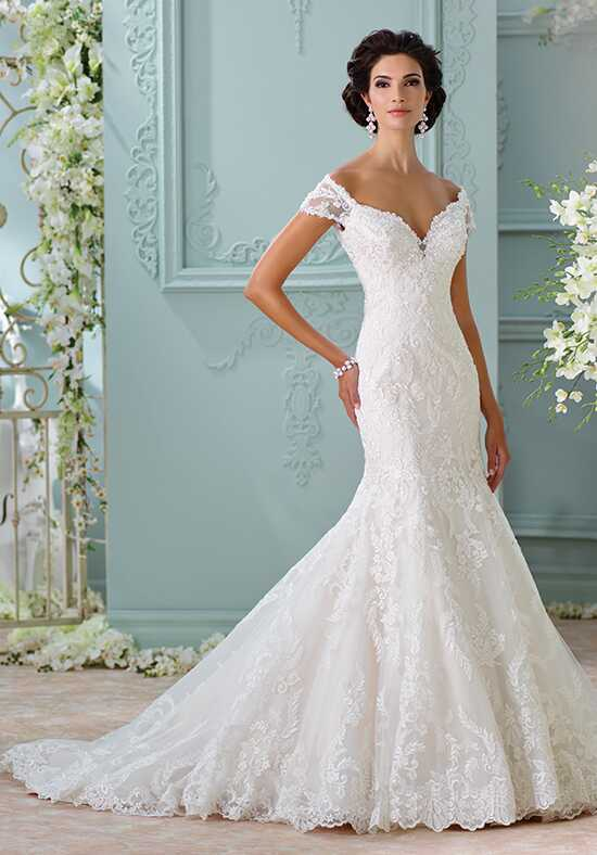 David Tutera for Mon Cheri 116201 - Aura Mermaid Wedding Dress