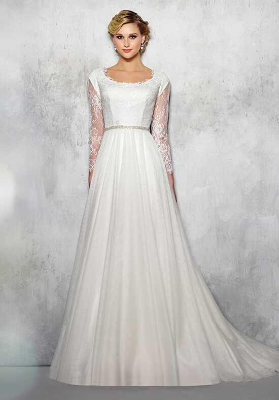 Modest by Mon Cheri TR21721 A-Line Wedding Dress