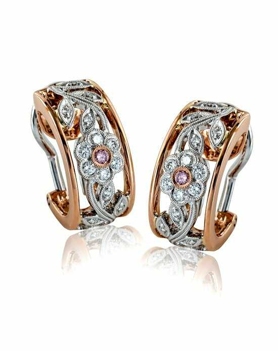 Simon G. ME1487-R Wedding Earring photo