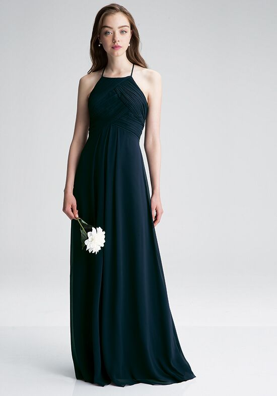 #LEVKOFF 7001 Halter Bridesmaid Dress
