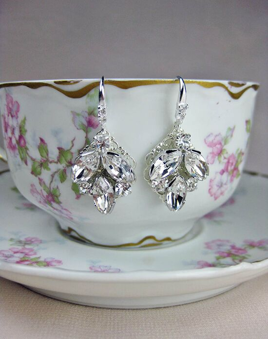 Everything Angelic Taylor Earrings - e306 crystal Wedding Earring photo