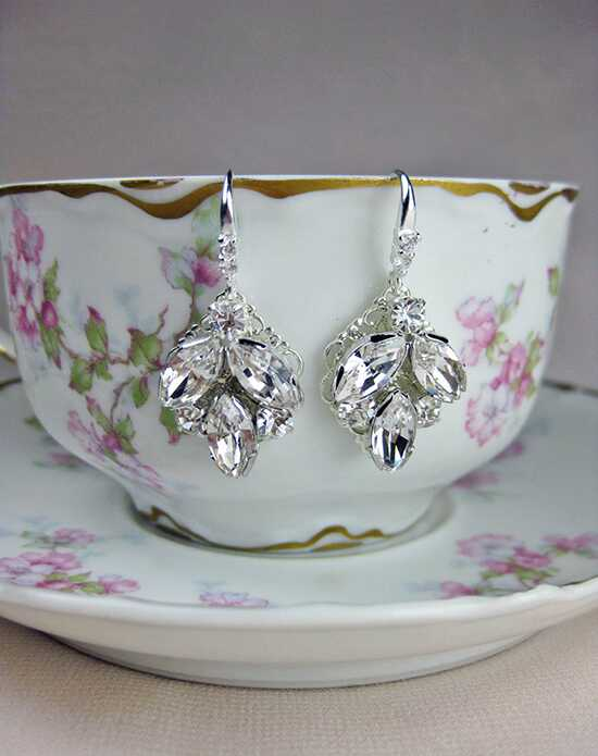 Everything Angelic Taylor Earrings - e306 crystal Wedding Earrings photo