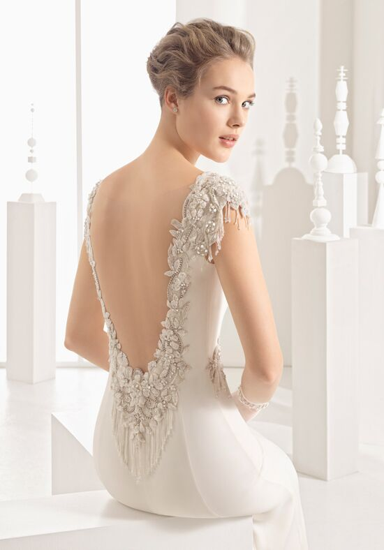 Rosa Clará Naipe Sheath Wedding Dress