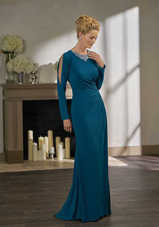 Jade Couture K198001 Blue Mother Of The Bride Dress