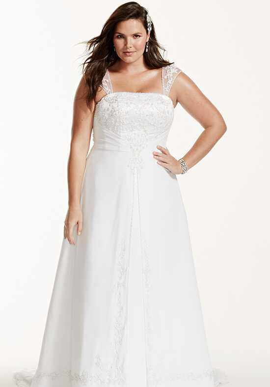 David's Bridal David's Bridal Woman Style 9V9010 A-Line Wedding Dress