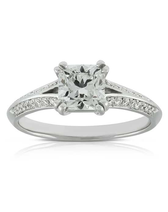Ben Bridge Jeweler Classic Cushion, Round Cut Engagement Ring