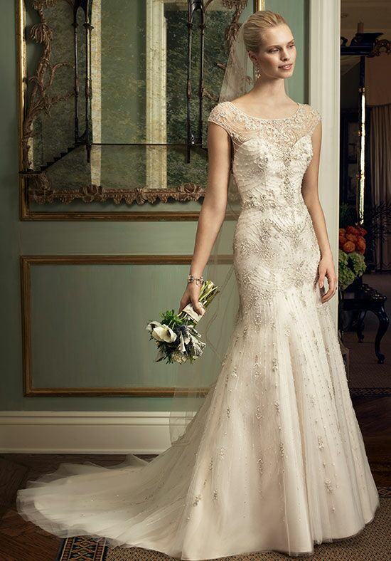 Casablanca Bridal 2220 Sheath Wedding Dress
