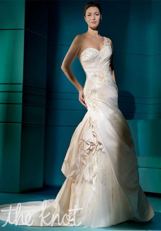 Demetrios 4274 Mermaid Wedding Dress