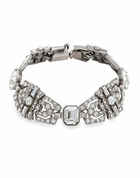 Thomas Laine Ben-Amun Deco Crystal Bracelet Wedding Bracelet photo