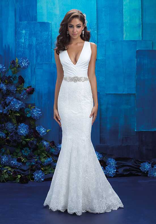 Allure Bridals 9410 Sheath Wedding Dress