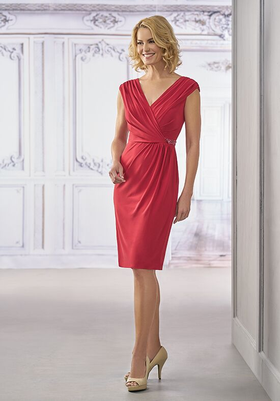Jasmine Black Label M190004 Red Mother Of The Bride Dress