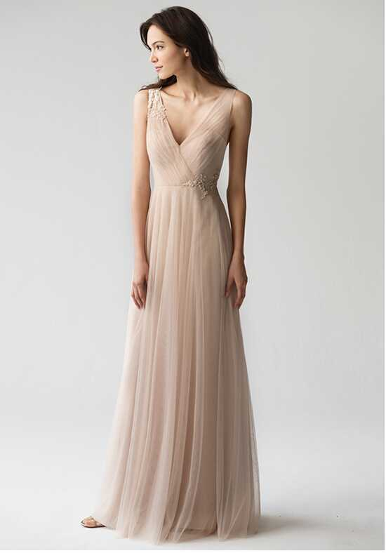 Jenny Yoo Collection (Maids) Emelie #1757 V-Neck Bridesmaid Dress