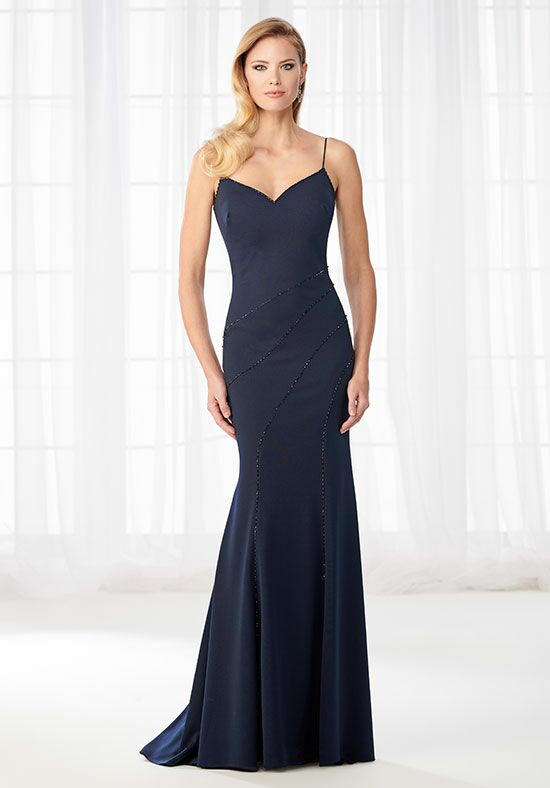 Cameron Blake 218614 Blue Mother Of The Bride Dress