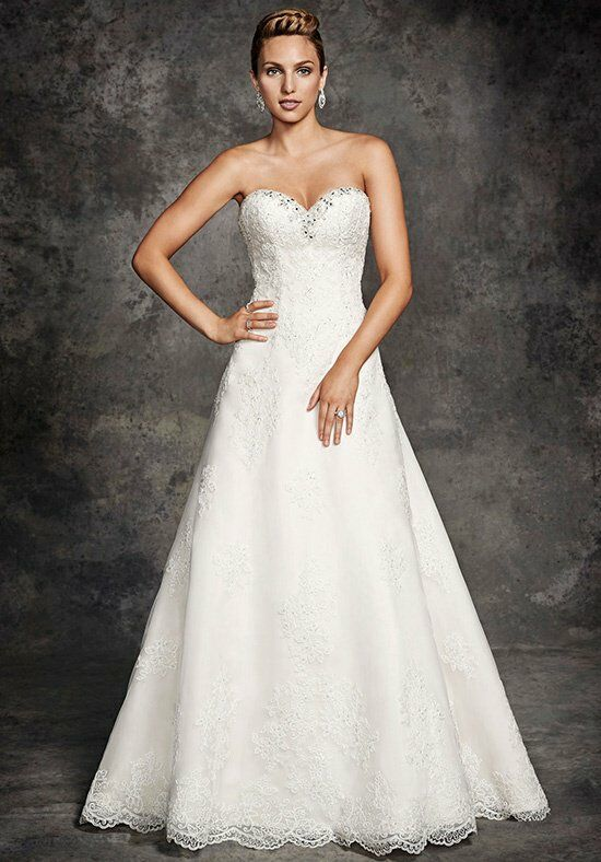 Ella Rosa BE255 A-Line Wedding Dress