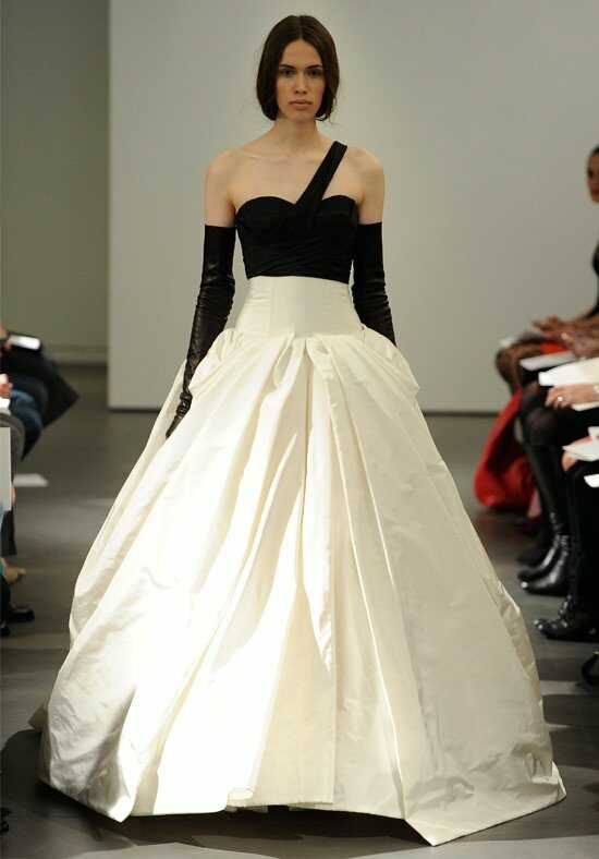 Vera Wang Spring 2014 Look 4 Ball Gown Wedding Dress