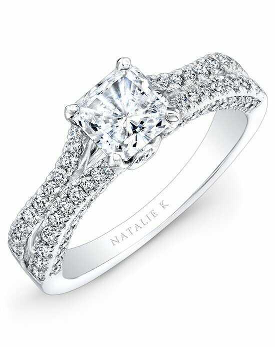 natalie k - Princess Cut Wedding Ring