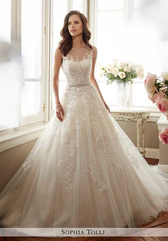 Sophia Tolli Y11719 Monte A-Line Wedding Dress