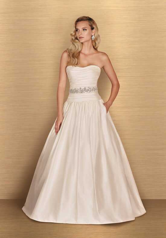 Paloma Blanca 4654 A-Line Wedding Dress
