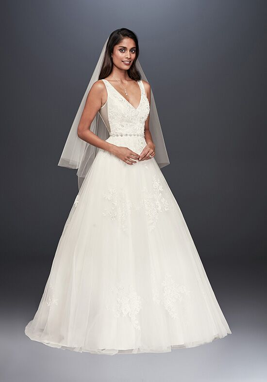 David's Bridal David's Bridal Style WG3877 Ball Gown Wedding Dress