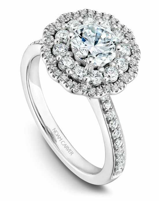 Noam Carver B141-16WS-100A Engagement Ring photo