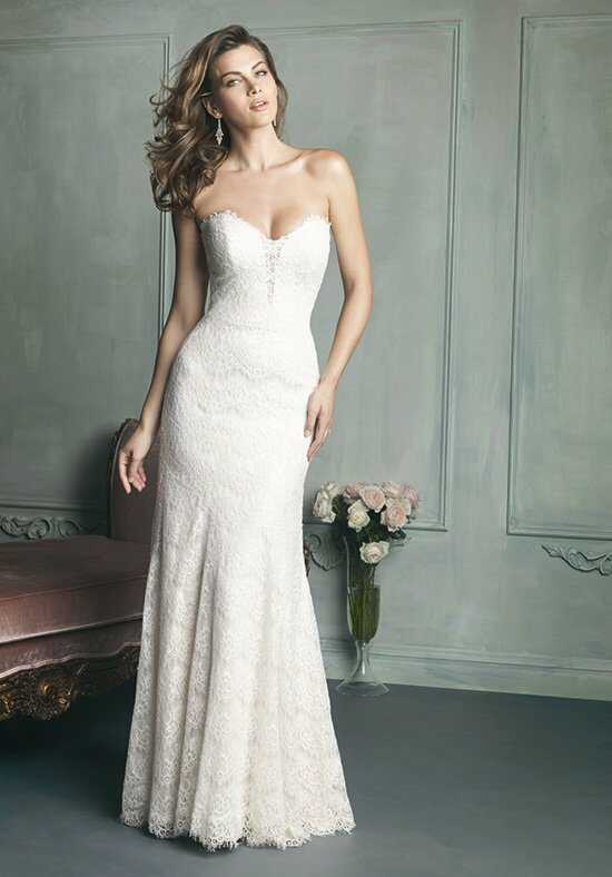 Allure Bridals 9107 A-Line Wedding Dress