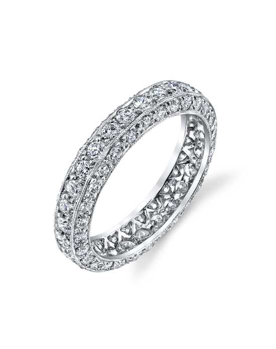 Erica Courtney Gorgeous & Engaged Caitlyn Platinum Wedding Ring
