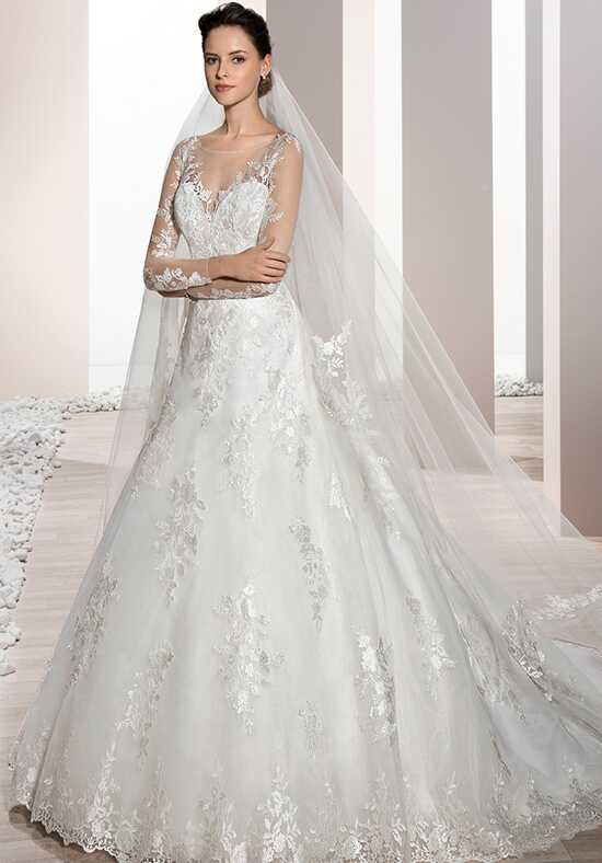 Demetrios 688 A-Line Wedding Dress