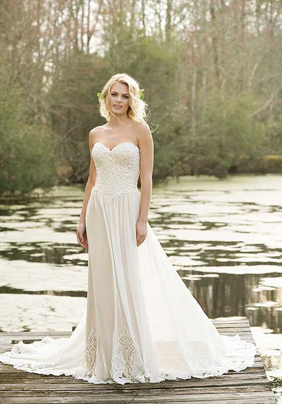 Lillian West 6469 A-Line Wedding Dress