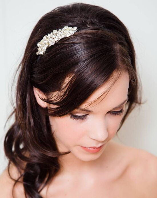 Davie & Chiyo | Hair Accessories & Veils Celeste Headband Silver Headband