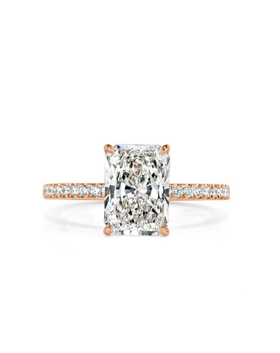 Mark Broumand Elegant Radiant Cut Engagement Ring