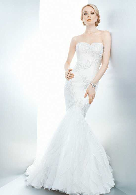 Matthew Christopher Hannah Mermaid Wedding Dress