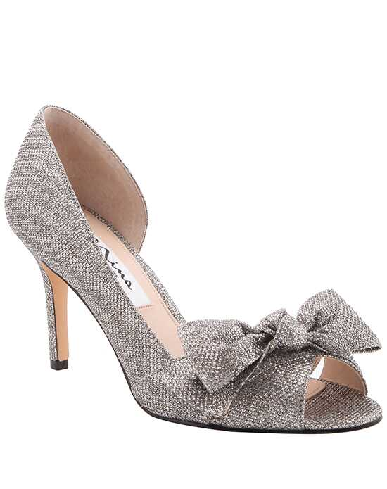 Nina Bridal Wedding Accessories Forbes_Silver Silver Shoe