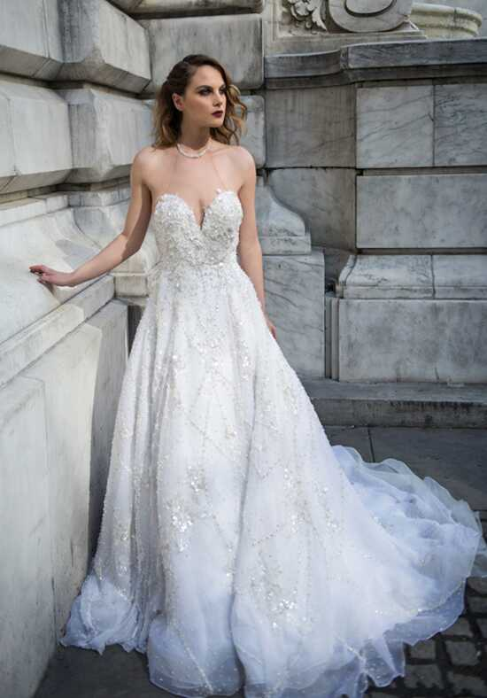 Stephen Yearick KSY170 A-Line Wedding Dress