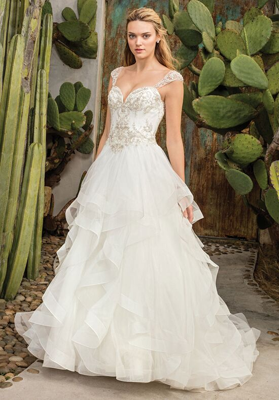 Casablanca Bridal Style 2308 Paloma Ball Gown Wedding Dress