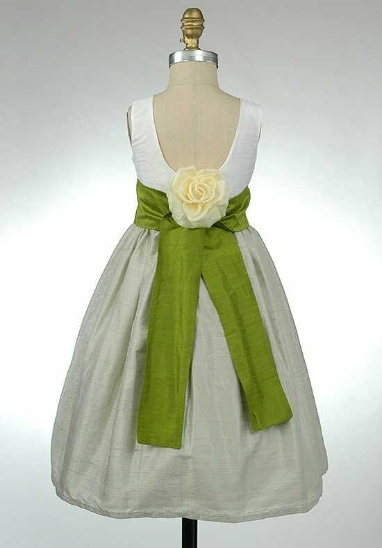 Elizabeth St. John Children Libby White Flower Girl Dress