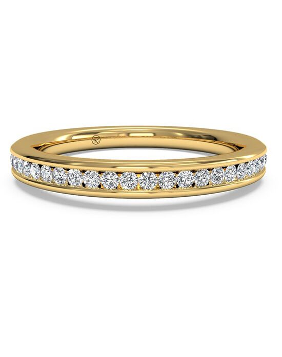 Ritani Women's Channel-Set Diamond Wedding Band - in 18kt Yellow Gold (0.15 CTW) Gold Wedding Ring