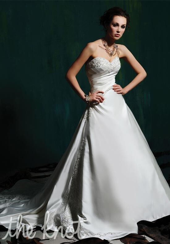 Eden Bridals 5104 Ball Gown Wedding Dress