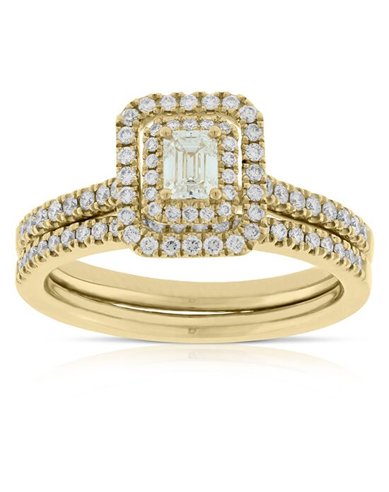 Ben Bridge Jeweler Vintage Emerald Cut Engagement Ring