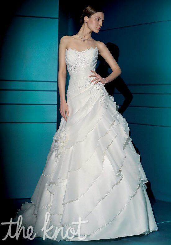 Demetrios 3167 A-Line Wedding Dress