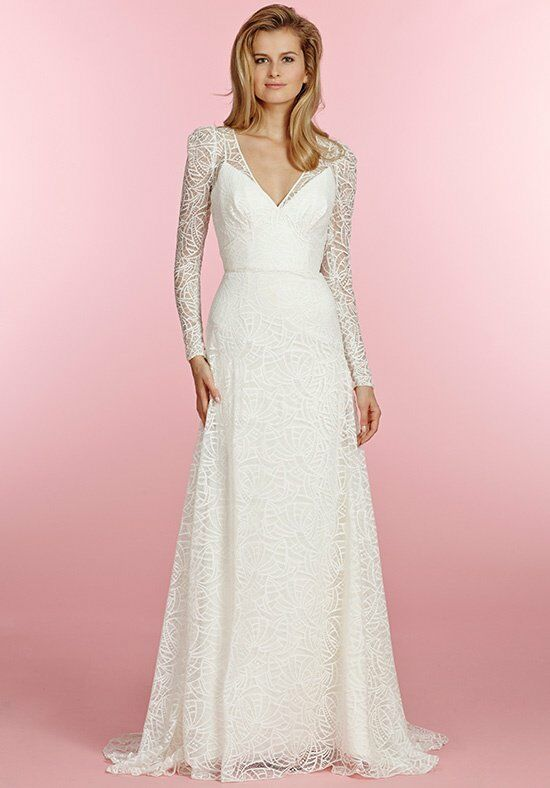 Blush by Hayley Paige 1511/Bluebelle Sheath Wedding Dress