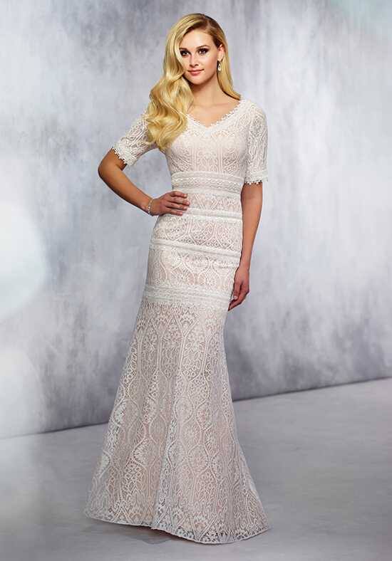 Modest by Mon Cheri TR21722 Mermaid Wedding Dress