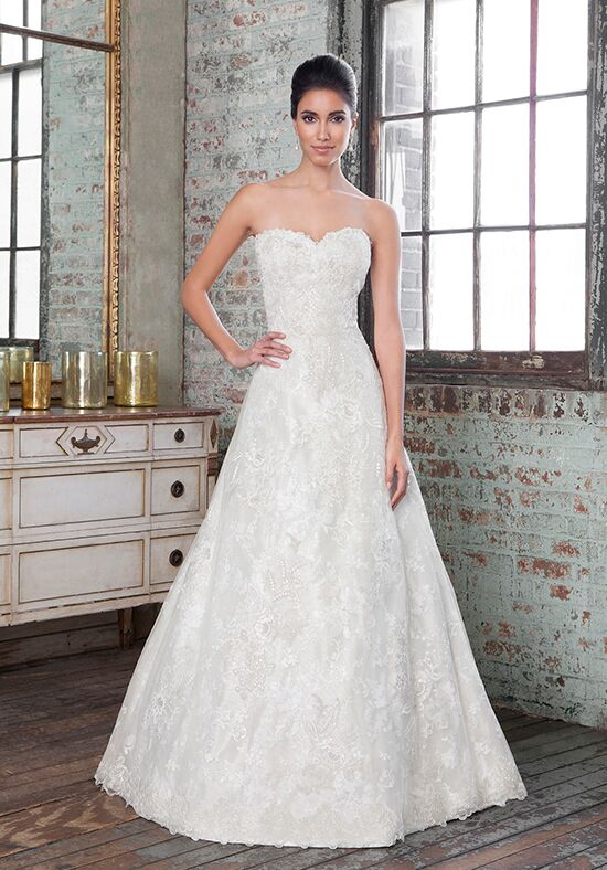 Justin Alexander Signature 9801 A Line Wedding Dress