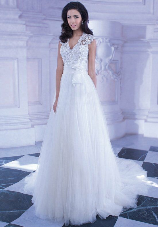 Demetrios GR257 A-Line Wedding Dress