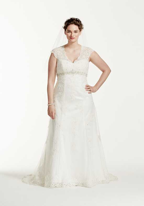 David's Bridal David's Bridal Collection Style 9T3299 A-Line Wedding Dress