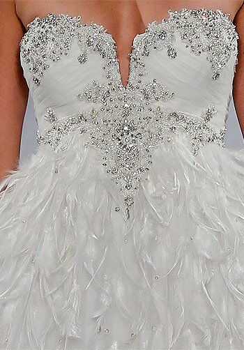 Pnina Tornai for Kleinfeld 4147 A-Line Wedding Dress
