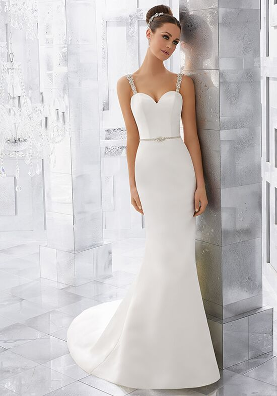 Morilee by Madeline Gardner/Blu Milena | Style 5569 Sheath Wedding Dress