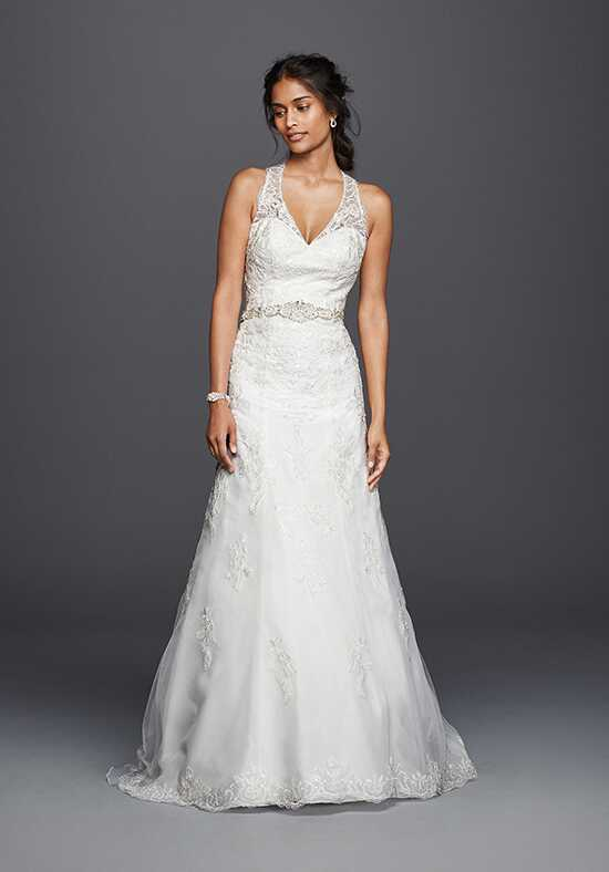 David's Bridal Jewel Style WG3799 A-Line Wedding Dress