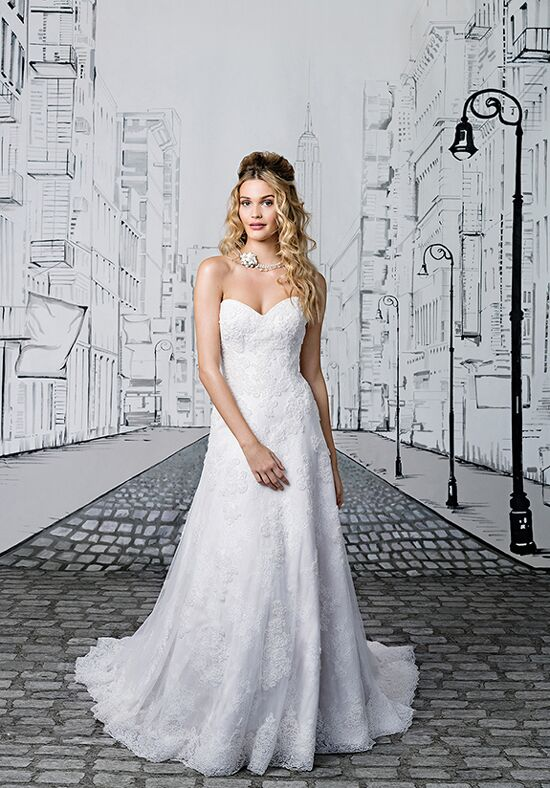 Justin Alexander 8891 A-Line Wedding Dress