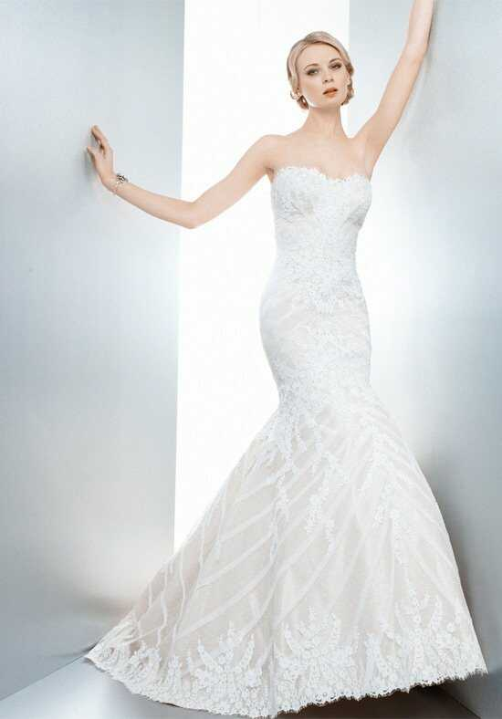 Matthew Christopher Sofia Mermaid Wedding Dress